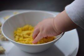 Jajecznica dla niemowlaka