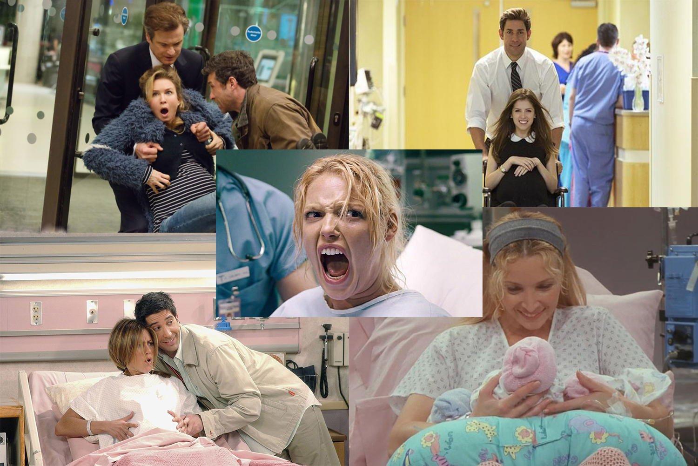 Poród w filmach vs poród w rzeczywistości