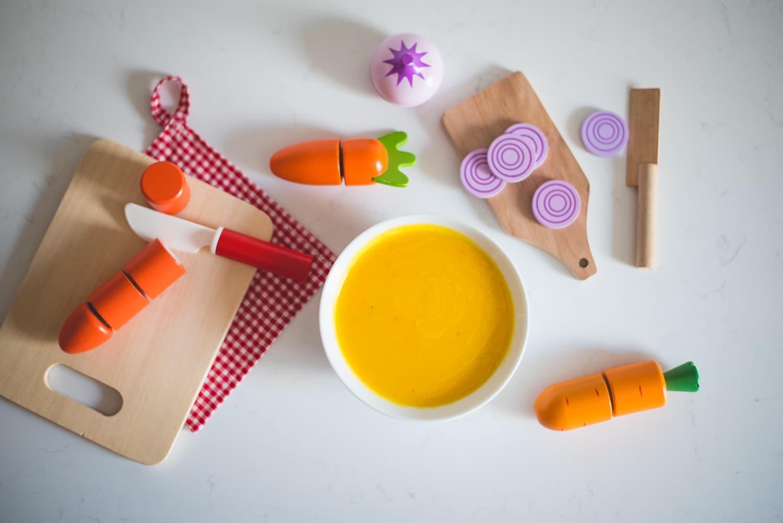 Danie SOS czyli zupa marchewkowa