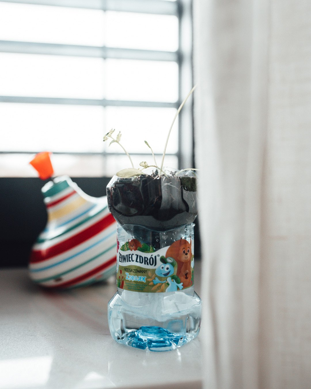 co zrobić z butelki